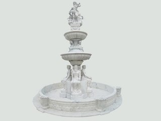 Marble Statue Fountain TY-FTN021